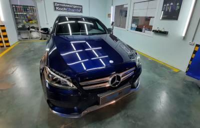 Восстановительная полировка Mersedes-Benz 01