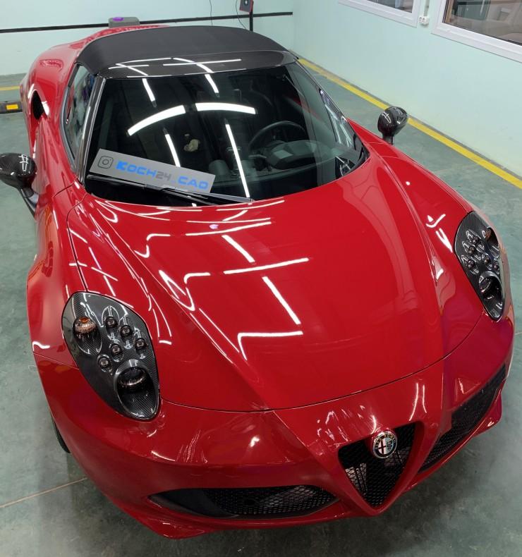 Детейлинг Alfa Romeo 4C 03