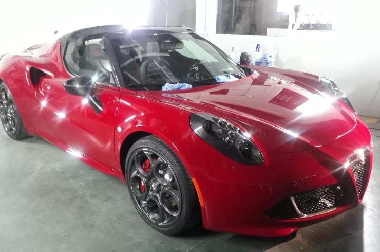 Детейлинг Alfa Romeo 4C 04