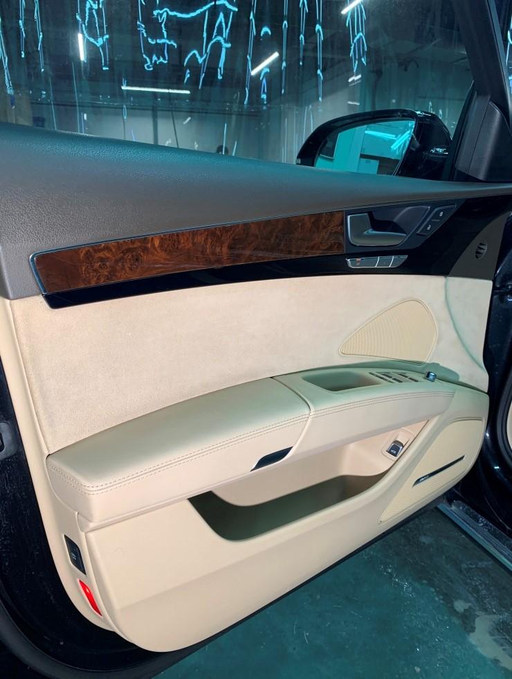 Химчистка Audi A8 02