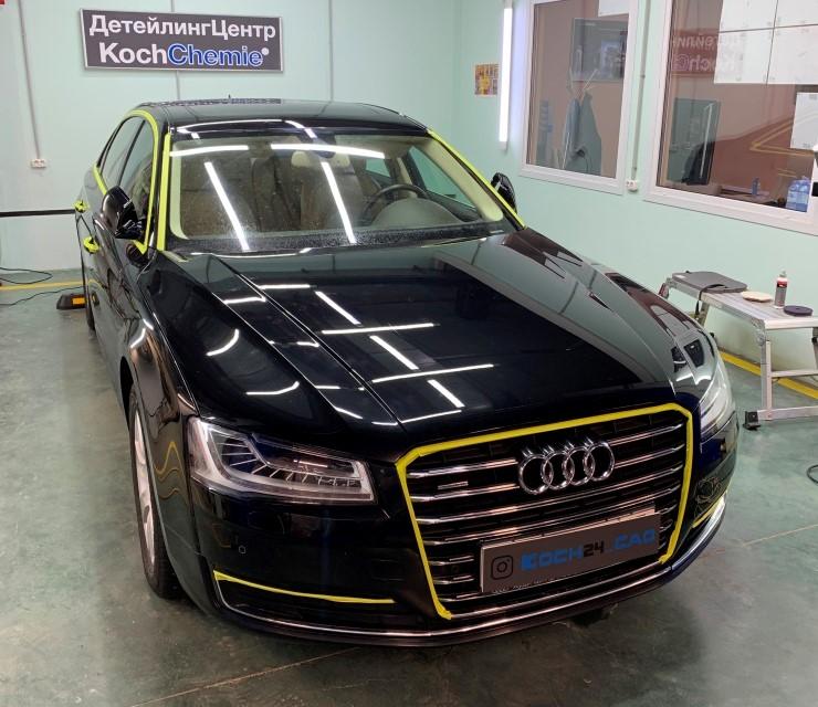 Полировка автомобиля Audi A8 03