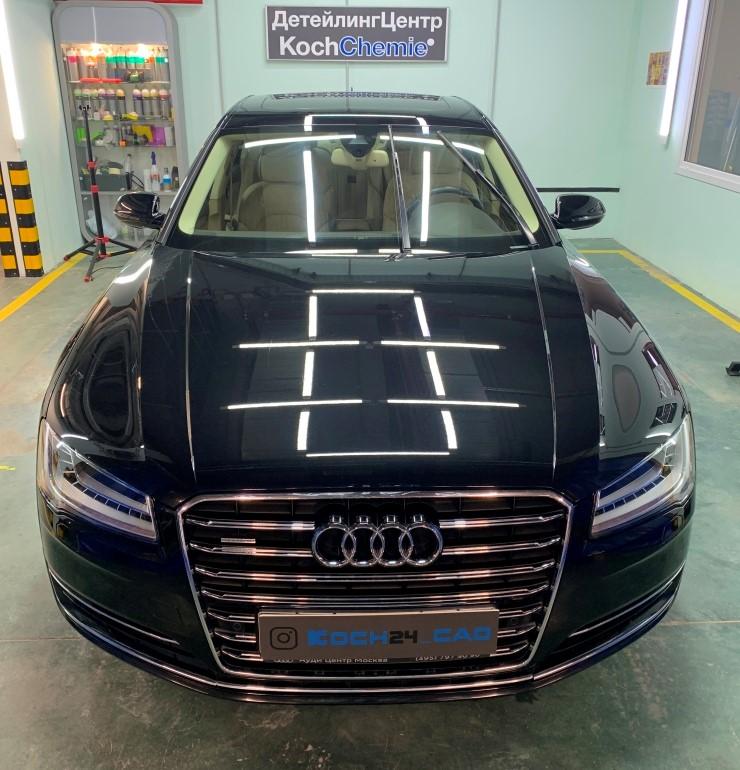 Полировка автомобиля Audi A8 04